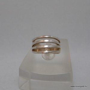 Széled unisex rostályos gyűrű
