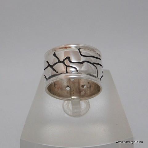 Unisex érvonal ezüst gyűrű