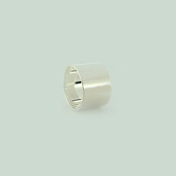 Ezüst 15 mm csőgyűrű