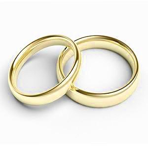 Karikagyűrű -fehér