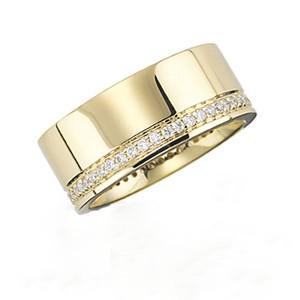 Körbe köves karikagyűrű