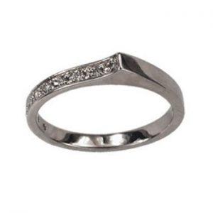 Köves arany gyűrű