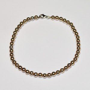 Gömb arany karkötő - gold ball bracelet