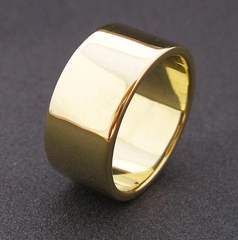 10mm -es arany csőgyűrű