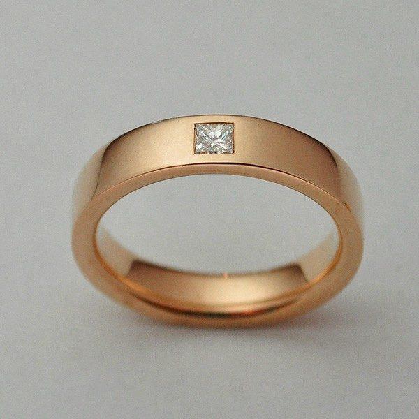 Princess gyémántos arany gyűrű