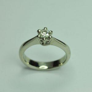 Brilles szoliter arany gyűrű